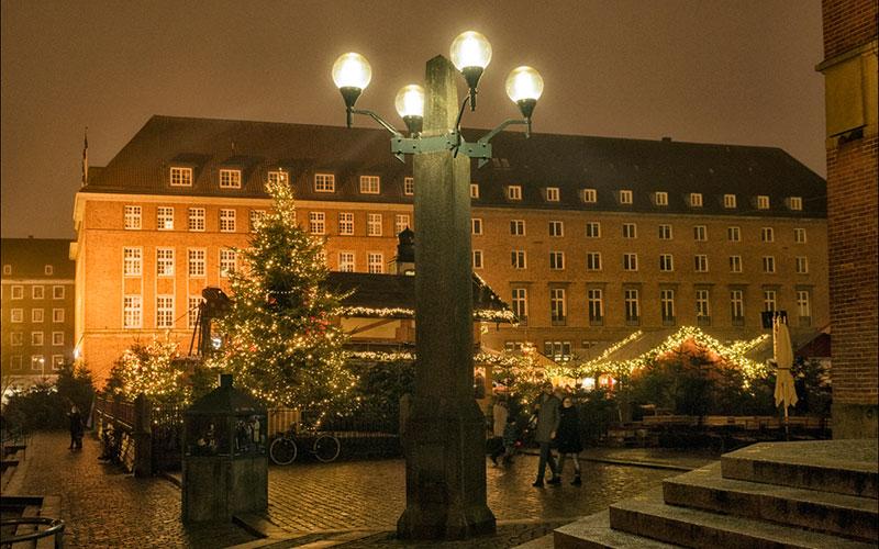 Der Rathausplatz