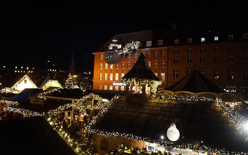 Die neue Weihnachts-Winterwelt in Kiel